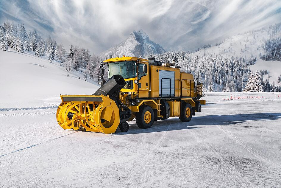Oshkosh Snow Products Dual Engine Blower