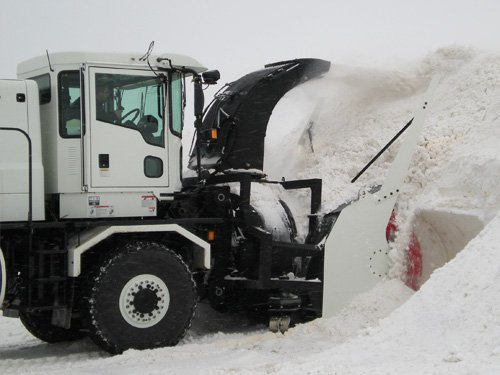 Oshkosh Snow Products Road Blower Bank