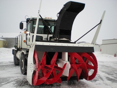 Oshkosh Snow Products Road Blower Front Left