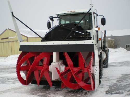 Oshkosh Snow Products Road Blower Front Right