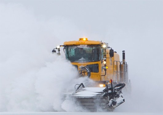 Oshkosh Snow Products H-Series XF Broom SIB Broom