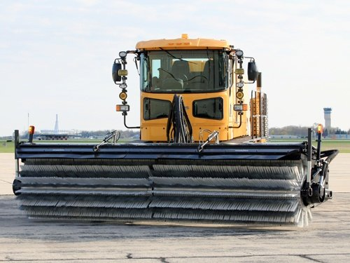 Oshkosh Snow Products H-Series XF Broom front