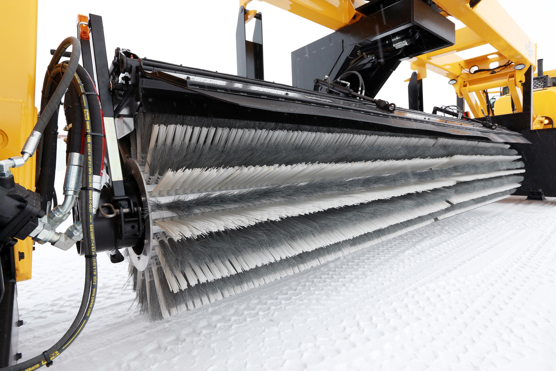 Oshkosh Snow Products XT Tow Behind Broom