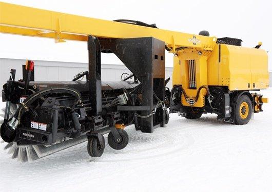 Oshkosh Snow Products XT Tow Behind Broom 3