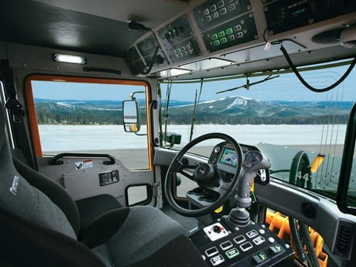 Oshkosh Snow Products H-Series Chassis Cabin