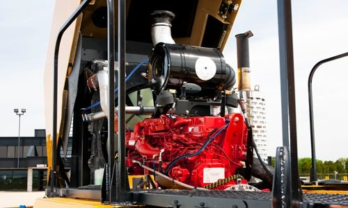 Oshkosh Snow Products H-Series Chassis Engine