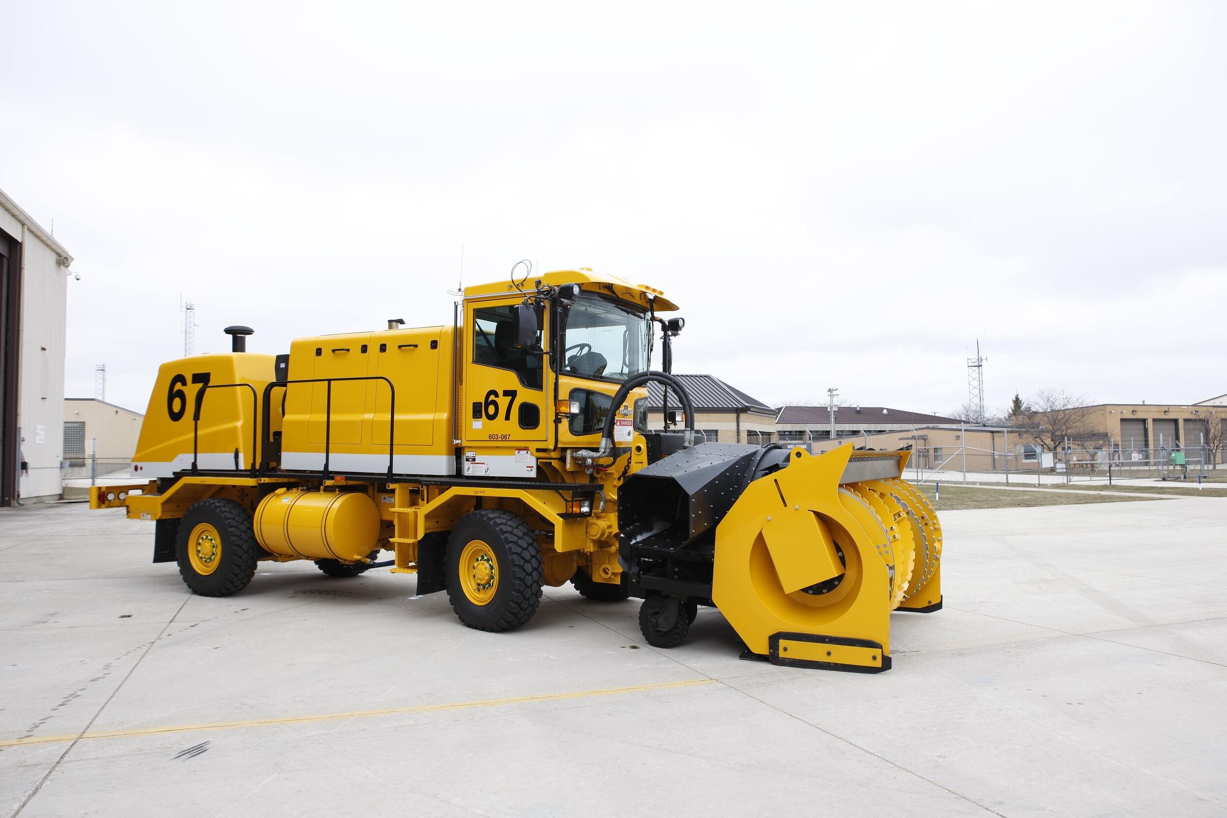 Oshkosh Snow Products H-Series Chassis
