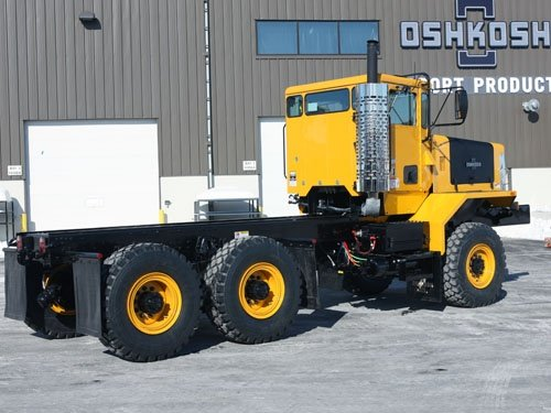 Oshkosh Snow Products Chassis Attachments P Series 6x6
