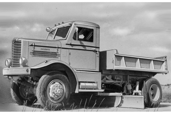 Oshkosh Snow Products Old Truck