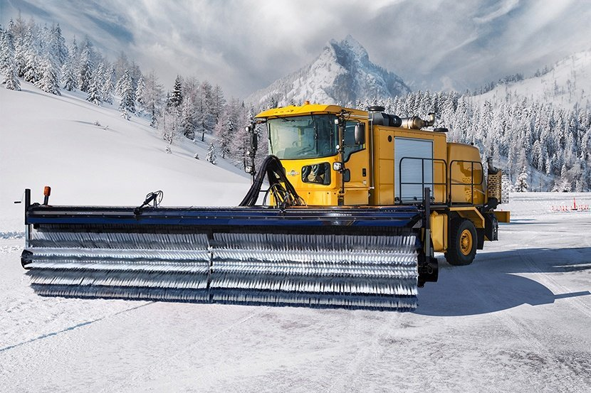 Snow Trucks Brooms